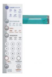 MEMBRANA MICROONDAS ELECTROLUX MODELO ME30G