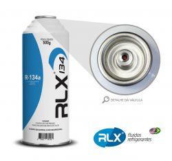 GÁS REFRIGERANTE RLX R134A LATA C/500GR